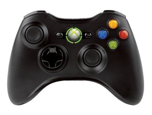 New Official Microsoft Xbox 360 Wireless Controller Black $20.99 with Free Shipping from CA