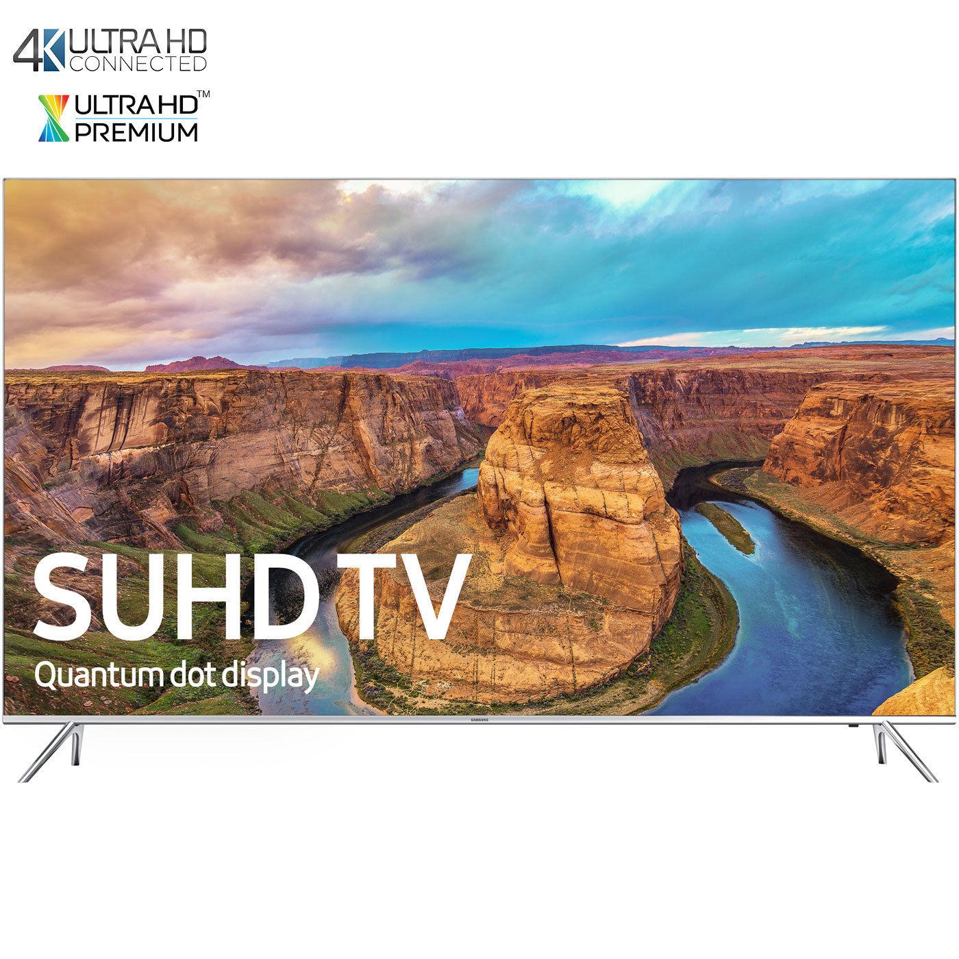 "65"" Samsung UN65KS8000 Flat 120Hz Smart 4K SUHD HDR 1000 HDTV  $1749 + Free Shipping"