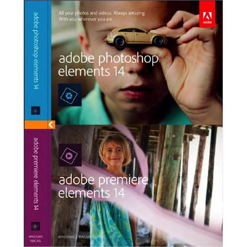 Adobe Photoshop Elements 14 & Premiere Elements 14 (PC/Mac)  $70 + Free Shipping
