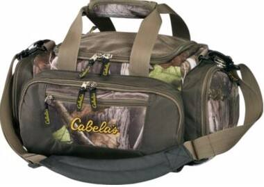 Cabela's Catch-All Camo Gear Bag $9 + free shipping