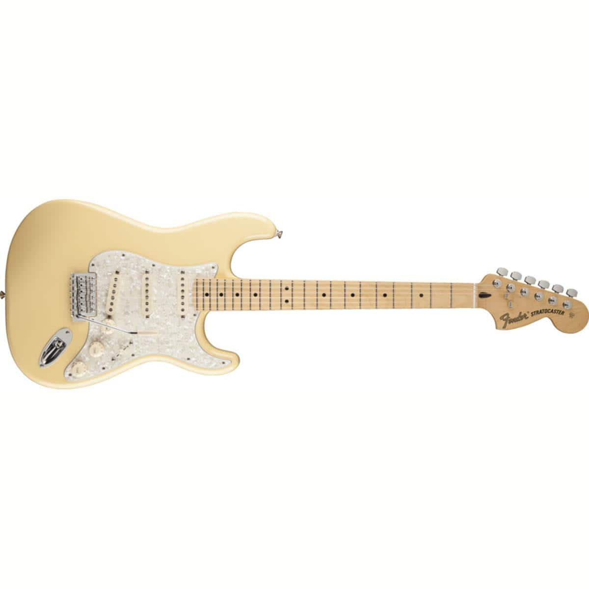 Fender Deluxe Roadhouse Stratocaster Electric Guitar (Vintage White)  $385 + Free Shipping