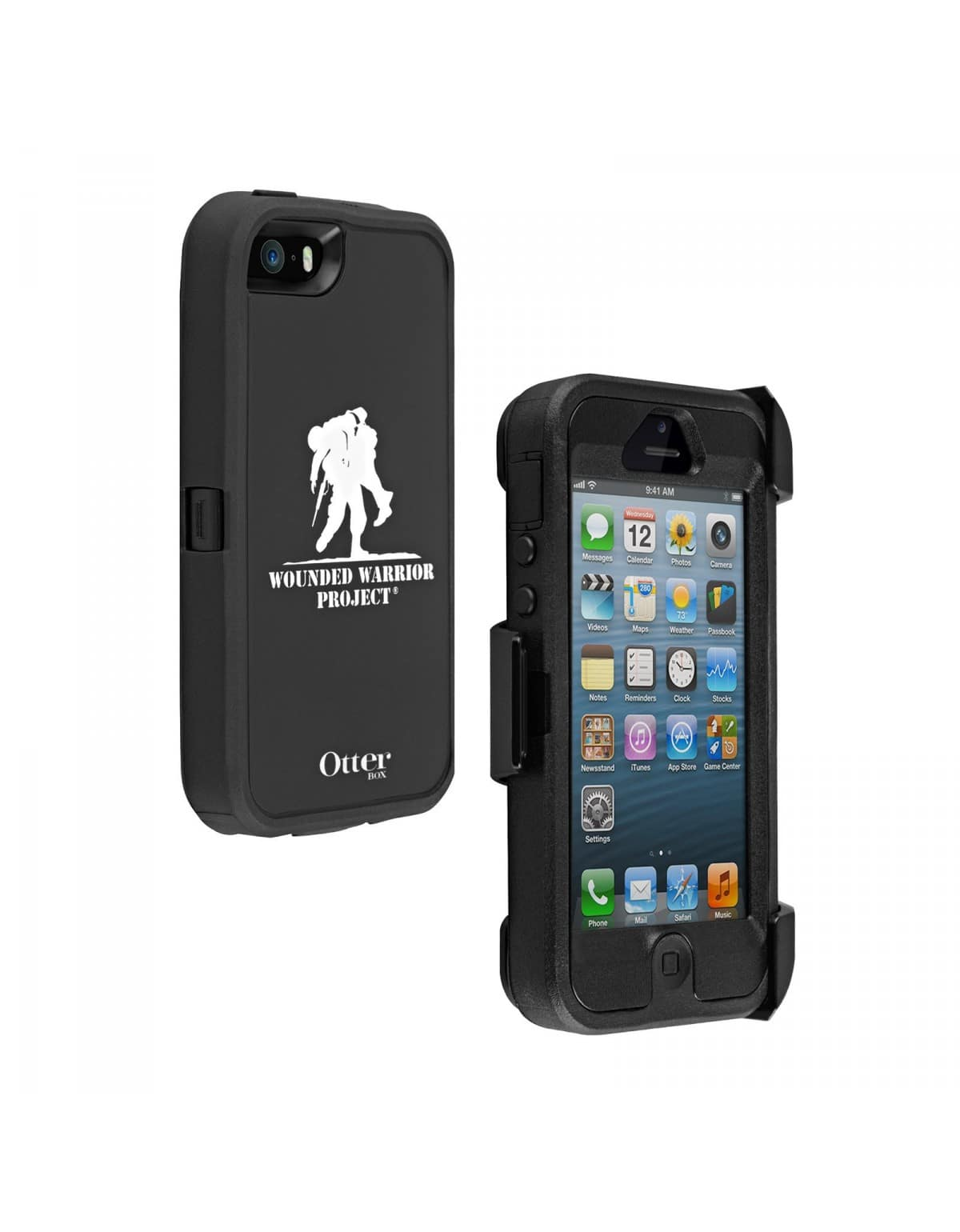 OtterBox Defender Series Case for iPhone 5/5S/SE Wounded Warrior Edition (retail) $5 + free shipping