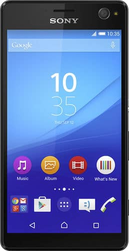 Refubished - 16GB Sony Xperia C4 Unlocked 4G LTE Smartphone (Black) $119.99 + Free Shipping Best Buy & Ebay