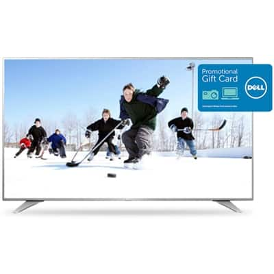 "LG 65"" 65UH6550 4K UHD  HDR Smart TV, $300 Dell GC for $1,050 + free shipping"