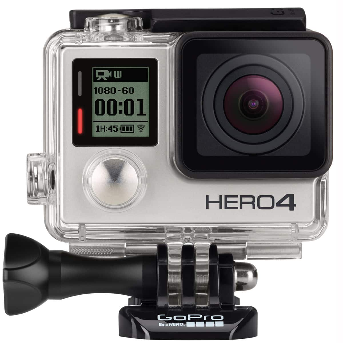 GoPro HERO4 Silver Edition Camera Manufacturer Refurbished $244  1 year warranty