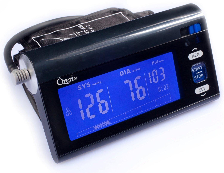 Ozeri CardioTech BP3T Upper Arm Blood Pressure Monitor $18.95 @ Amazon, fs w/ prime