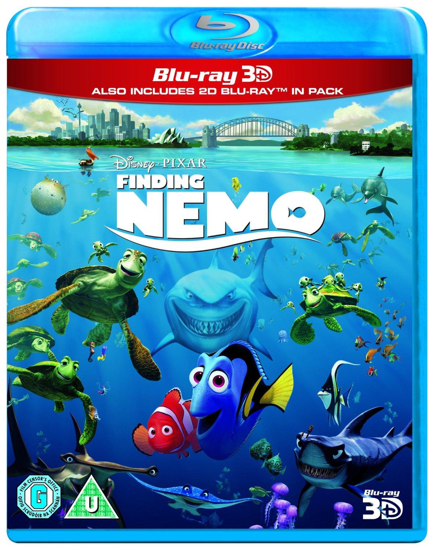 Disney 3D Blu-rays (Region Free): Finding Nemo, Up, Cars, Planes  $14.50 & More