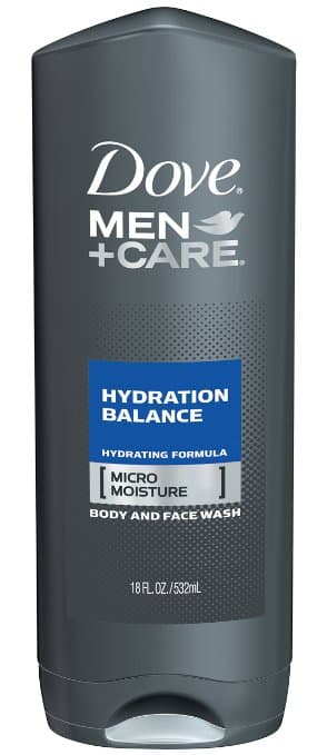6-Pack of 18oz Dove Men+Care Body Wash (Hydration Balance) $5.20 + Free Shipping
