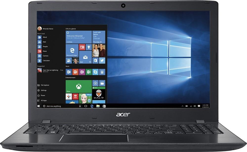 """Acer - Aspire E 15 15.6"""" Core i5 (6200U) 4GB RAM 1TB HDD Obsidian Black for $299.99 + FS (Bestbuy)"""