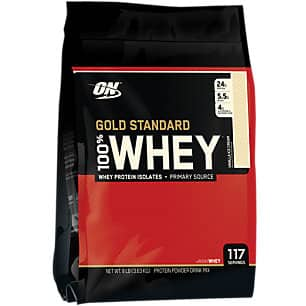 8-lbs Optimum Nutrition Gold 100% Whey Protein (Vanilla Ice Cream) $64.99 + Free Shipping