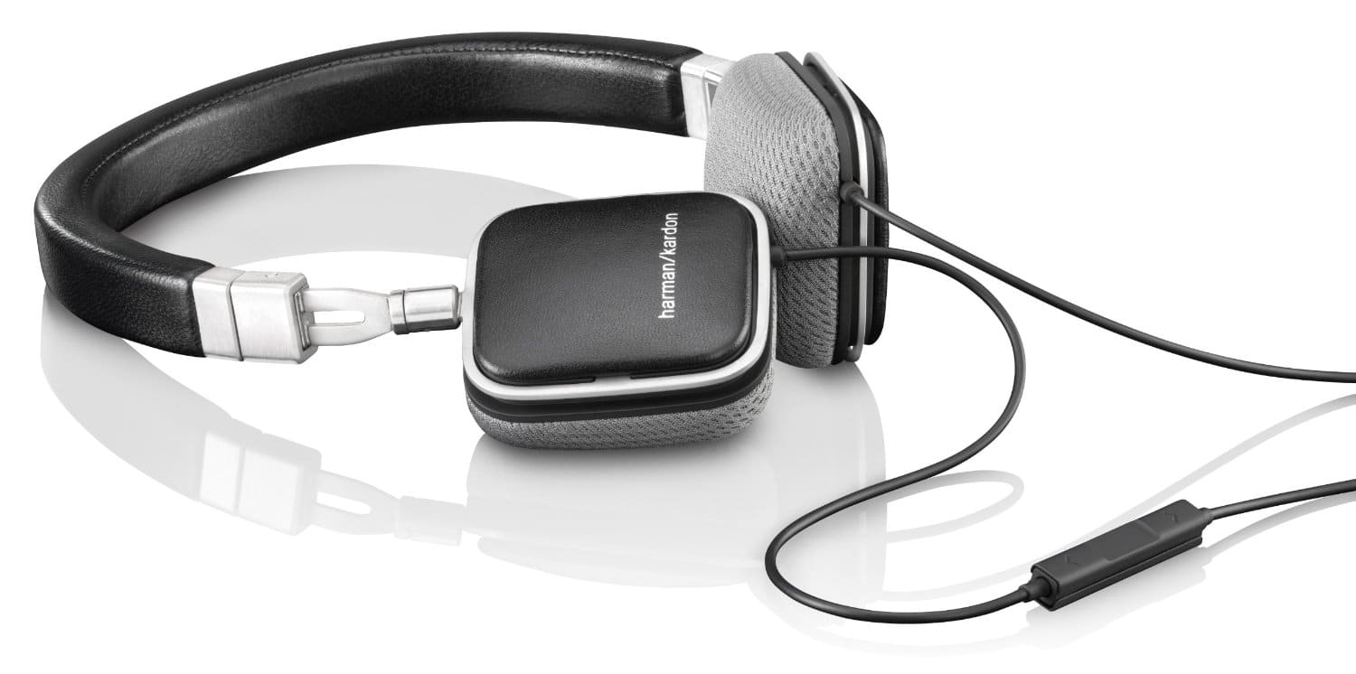 Harman Kardon Headphone Sale: SOHO BLK Premium Flat-On/ Lie-Flat Headphones in Black, White and Brown) $79 + FSSS!