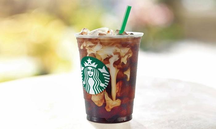 Starbucks $10 Gift Card for $5 New Customers