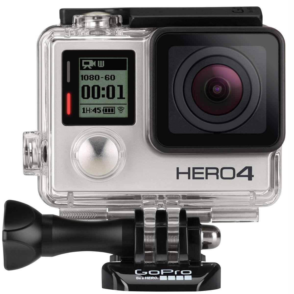 $244 GoPro HERO4 Silver Edition Camera Manufacturer Refurbished - Ebay Daily Deal