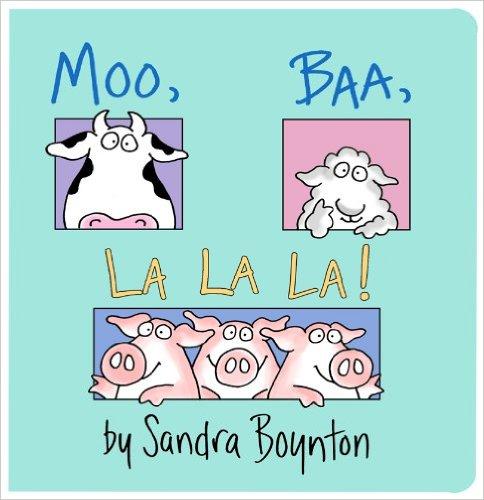 Moo, Baa, La La La! (Board Book)  $2.75
