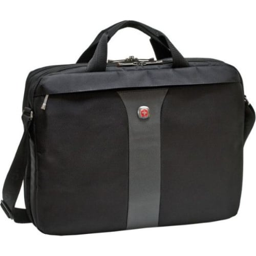 """SwissGear Legacy 17"""" Double Slim Computer Slimcase  $25 & More + Free S&H"""