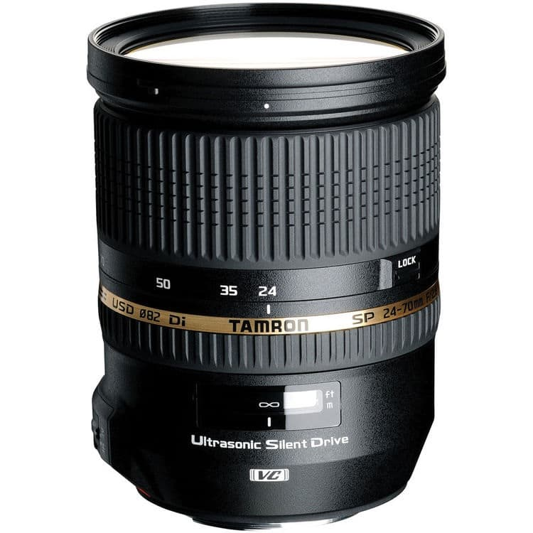 Tamron SP 24-70mm f/2.8 Di VC USD Lens (Sony Mount)  $799 after $500 Rebate + Free S&H