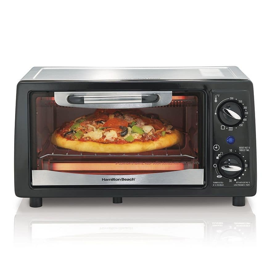 Kohls Cardholders: Hamilton Beach 4-Slice Toaster Oven $9 after $5 Rebate + free shipping, More