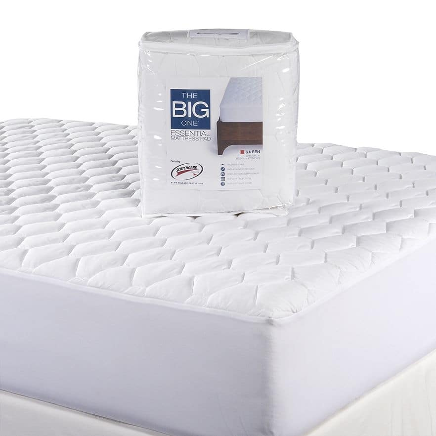 Kohls Cardholders: The Big One Essential Mattress Pad: Twin $7, Full $9, Queen $12, King $14 + free shipping