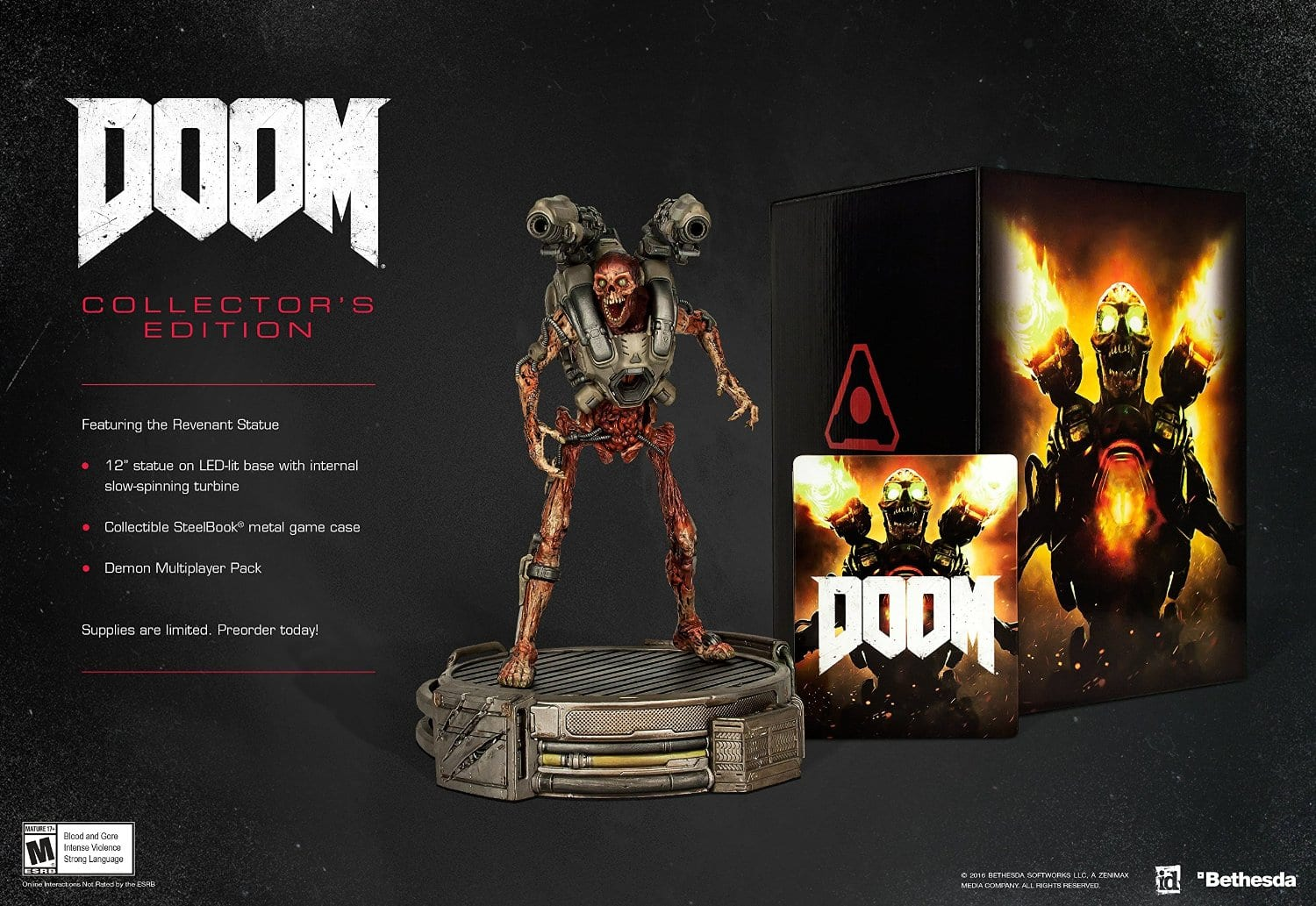 Doom: Collector's Edition (PS4)  $61.50 + Free Shipping
