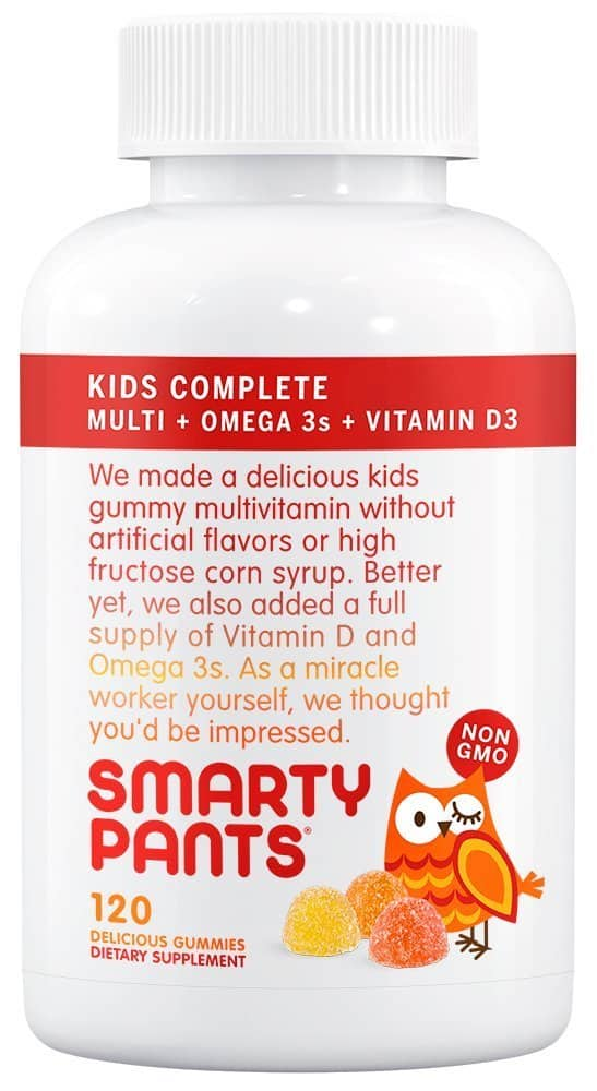 120-Count SmartyPants Kids Complete Gummy Vitamins  $8.10 + Free Shipping