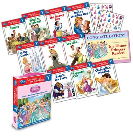 Reading Adventures Disney Princess Level 1 Boxed Set (Paperback)  $5.25