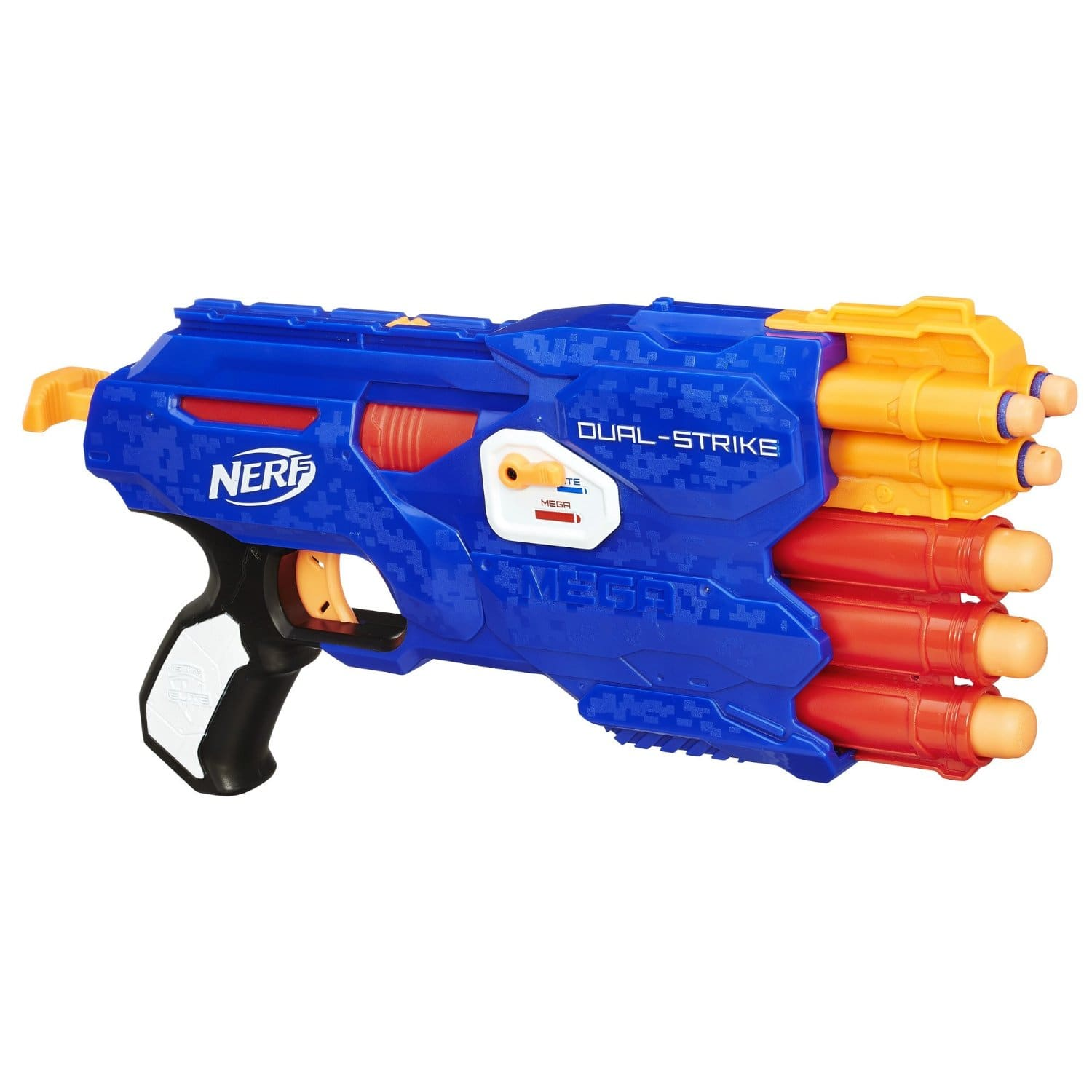 Select DOTD Nerf Toys: Up to 50% Off: Nerf Elite DualStrike Blaster, 2-Pack Jolt Blaster Set $9.99 & More via Amazon