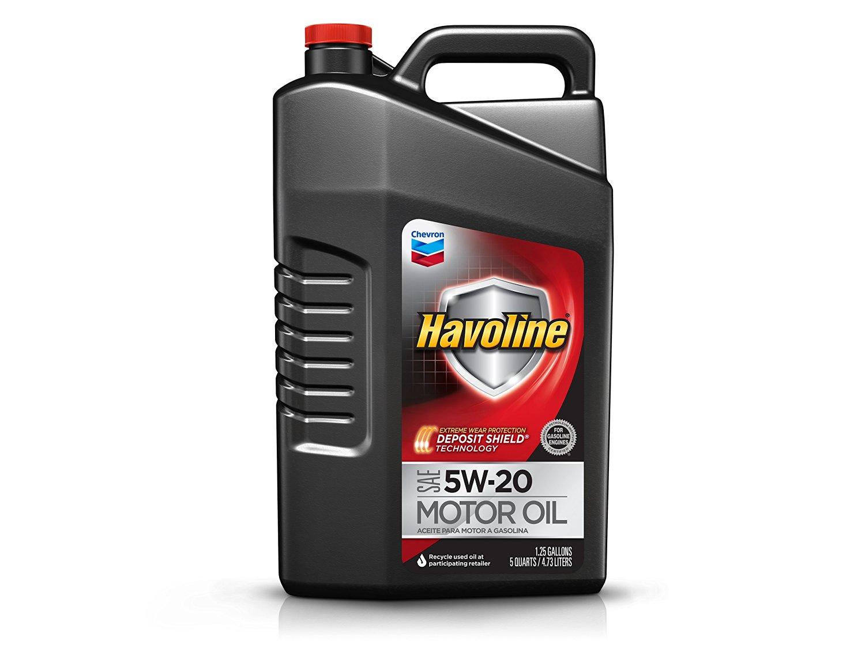 Prime Members: 5-Quart Havoline Conventional Motor Oil (5W-30)  $6.80 after $5 Rebate + Free S&H
