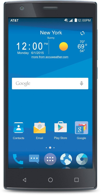 ZTE Zmax2  No Contract AT&T SmartPhone  $59.99 @ Amazon