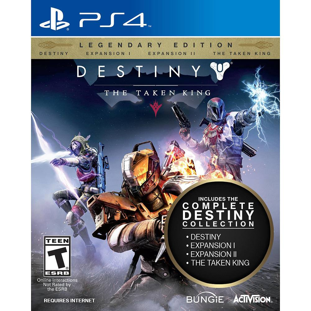 Destiny: The Taken King Legendary Edition (PS4 or Xbox One)  $20