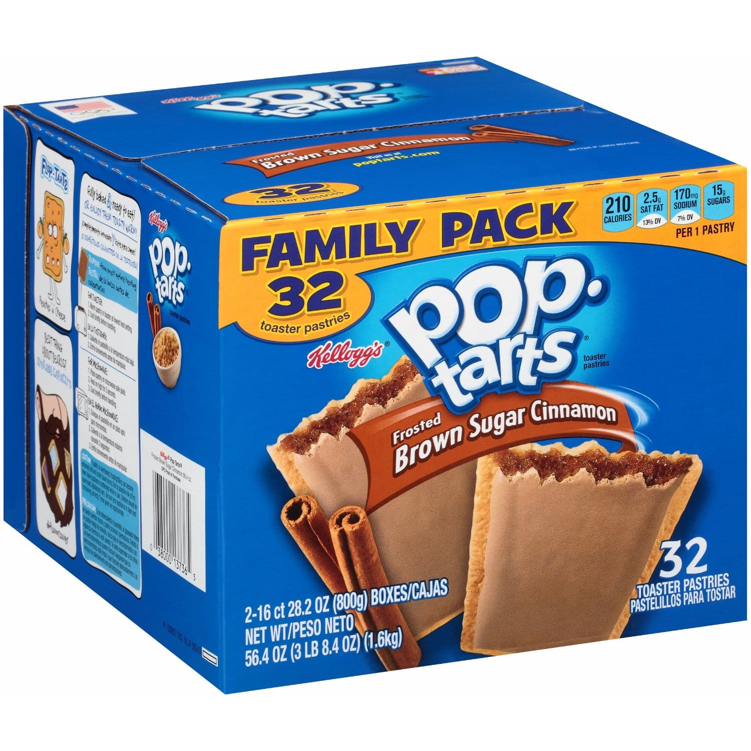 32-Count Frosted Pop-Tarts (Brown Sugar Cinnamon)  $5.30 + Free Shipping