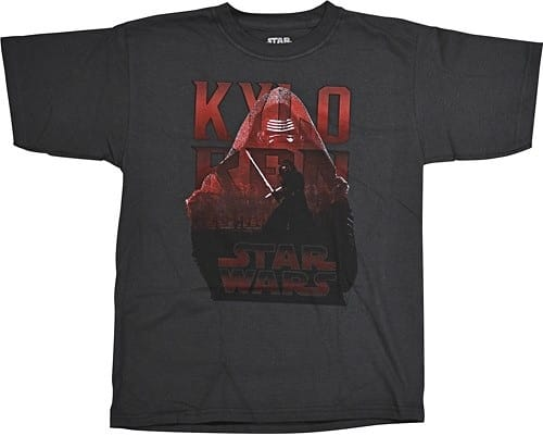 Star Wars Kylo Ren or Rebels Childrens T-Shirts $2.99 to $6.99 at Best Buy (Additional clearance items as well)