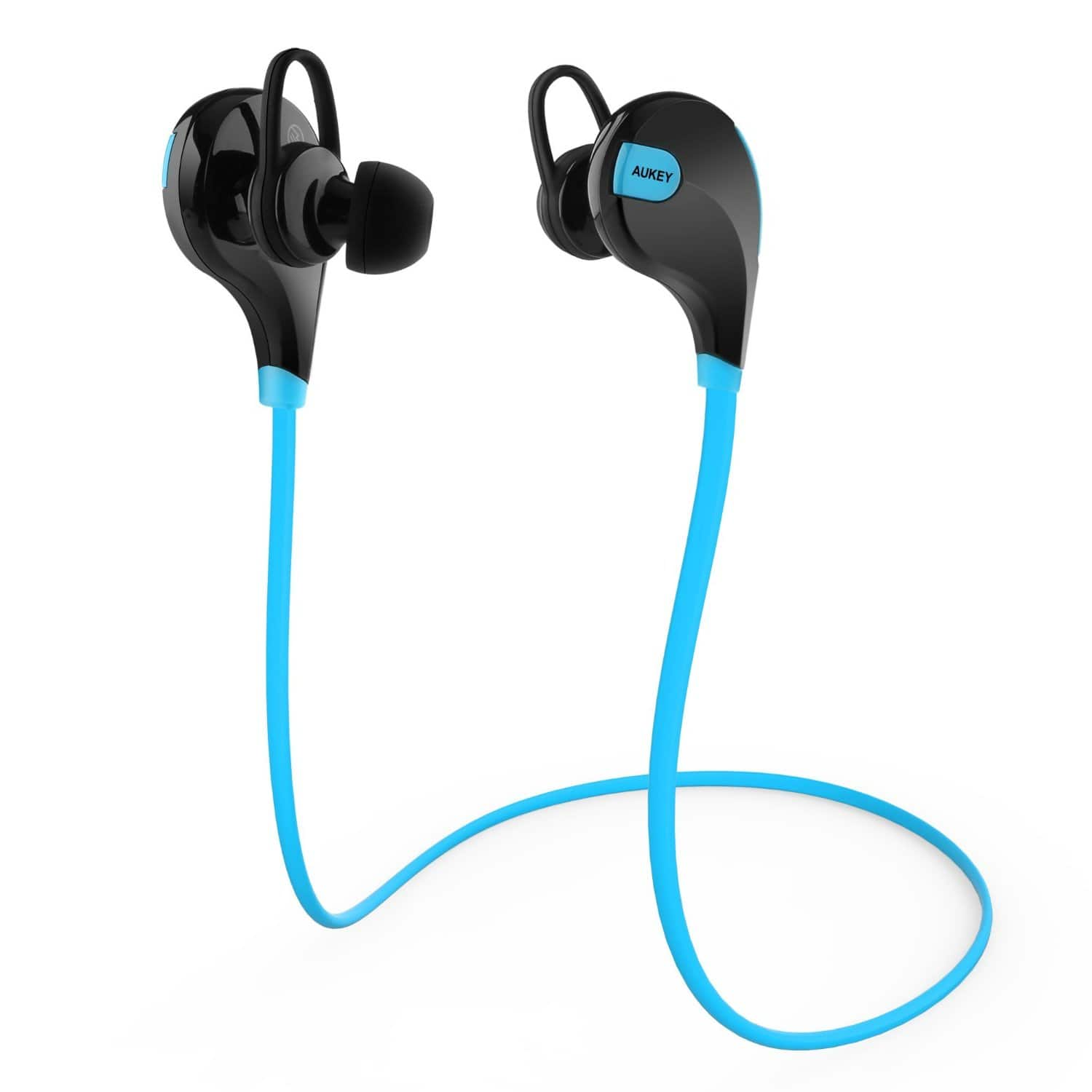 Aukey Wireless Bluetooth 4.1 Sports Headphones w/ Mic  $10