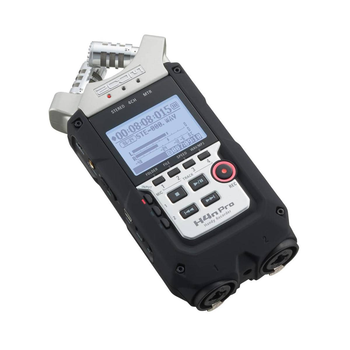 Zoom H4n Pro Porrtable 4-Track Audio Recorder $169 + free shipping