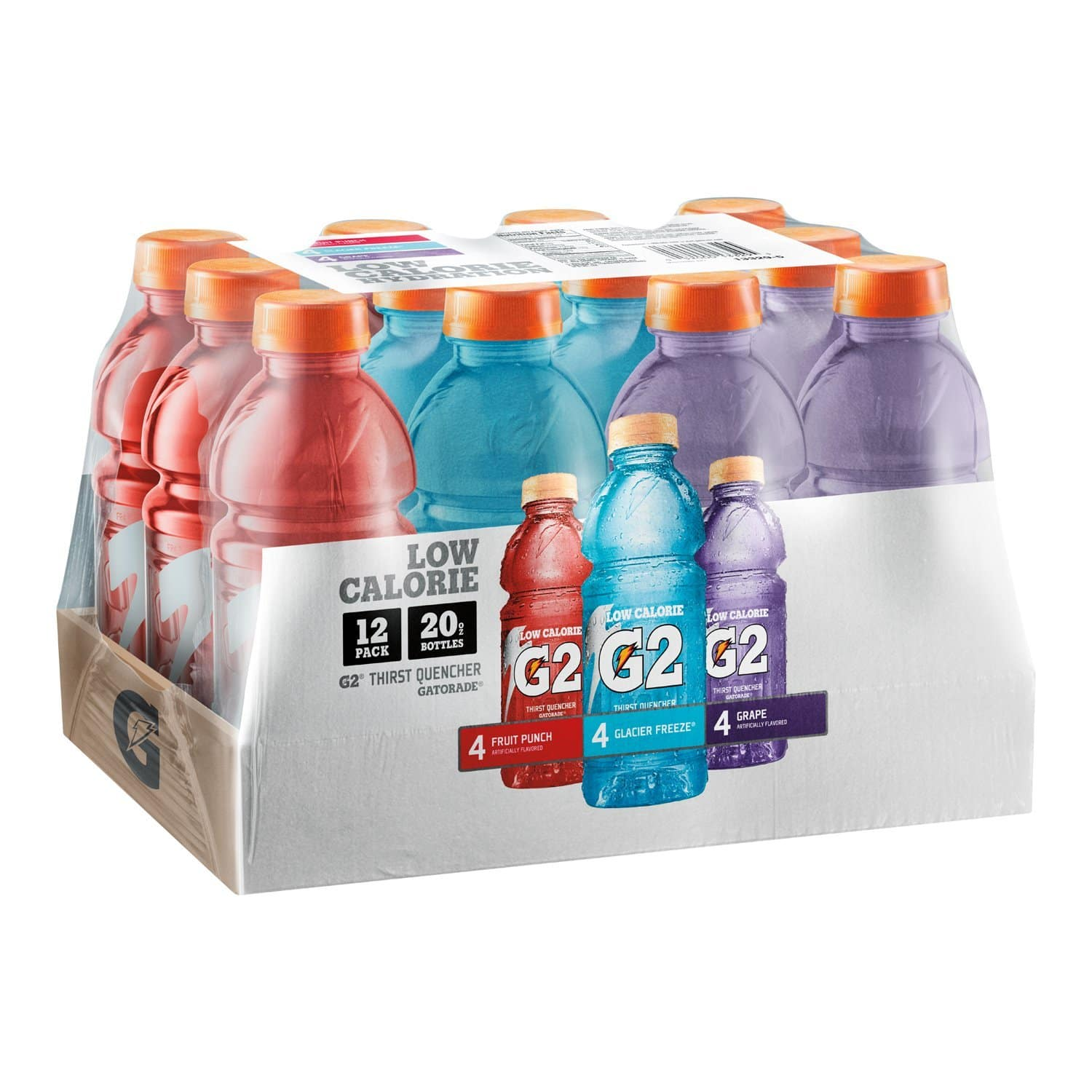 24-Pack 20oz. Gatorade G2 Thirst Quencher (variety pack)  $13.20 + Free S/H