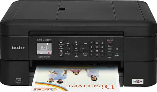 Brother MFC-J485DW Wireless Color Inkjet All-In-One Printer w/ Scanner, Copier & Fax $49.99 + Free Shipping