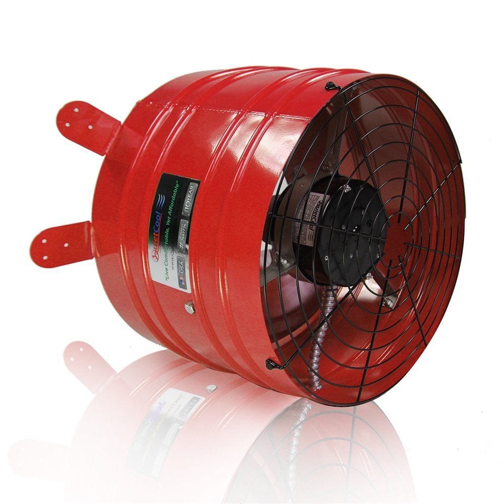 DIY Quietcool Whole House Fan - $129 w/ free shipping - uses a high powered Gable Fan