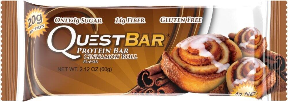 Quest Protein Bars 12-pk as low as $16.18/box w/ S&S-Double Chocolate Chunk or Cinnamon Roll *Amazon Prime Members Only*