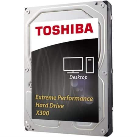6TB Toshiba X300 7200rpm Desktop Internal Hard Drive  $170 + Free Shipping