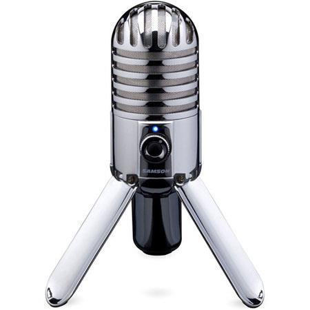 Samson Meteor Large Diaphragm USB Studio Microphone $50 + free shipping