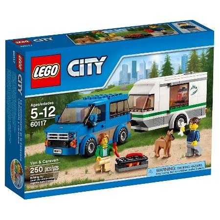 250-Pieces LEGO City Van & Caravan Set  $12 + Free Store Pickup