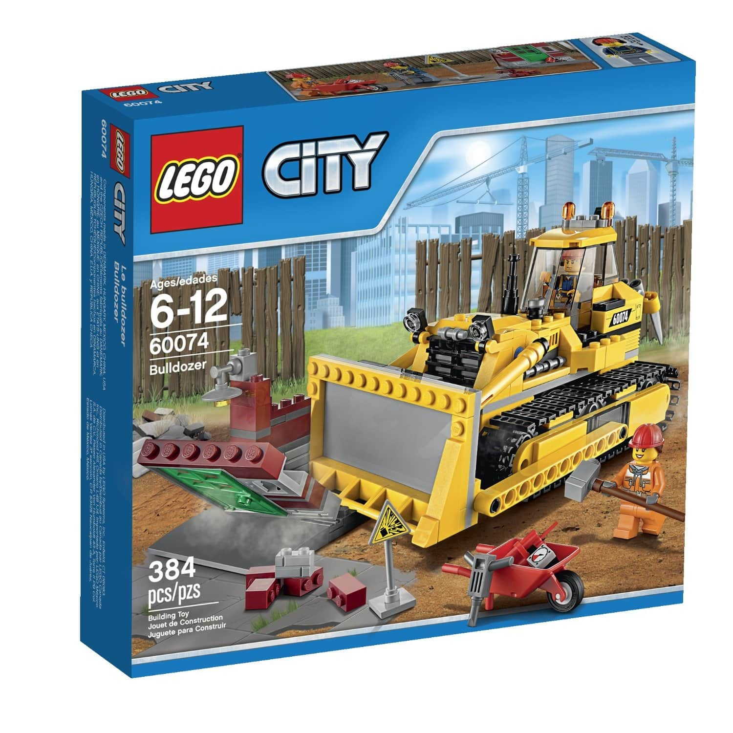 Lego City Demolition Bulldozer for $24.79 +FS (with Prime) @ Amazon