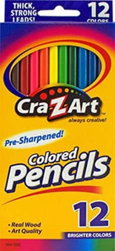 12-Count Cra-Z-Art Colored Pencils  $0.50 + Free Store Pickup