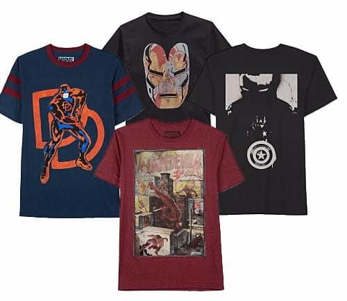 Men's Graphic Tees 4 for $20 shipped ($5 each when you buy 4- Budweiser, Ren & Stimpy, Blue Moon, Ghostbusters, More)