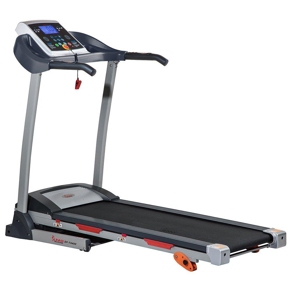 Sunny Health & Fitness SF-T4400 Treadmill (Gray)  $208 + Free Shipping