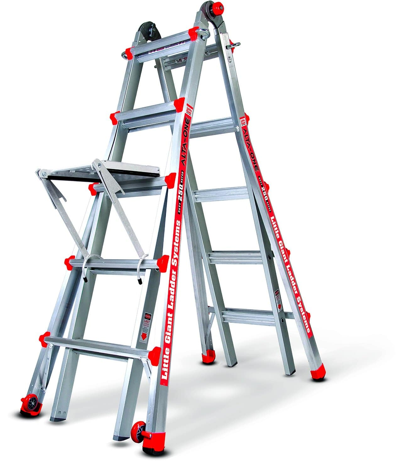 Little Giant 22' Alta One Ladder w/ Work Platform (250-lb Capacity)  $156 + Free Shipping