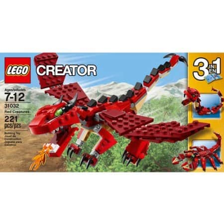 221-Pieces LEGO Creator Red Creatures Set  $11