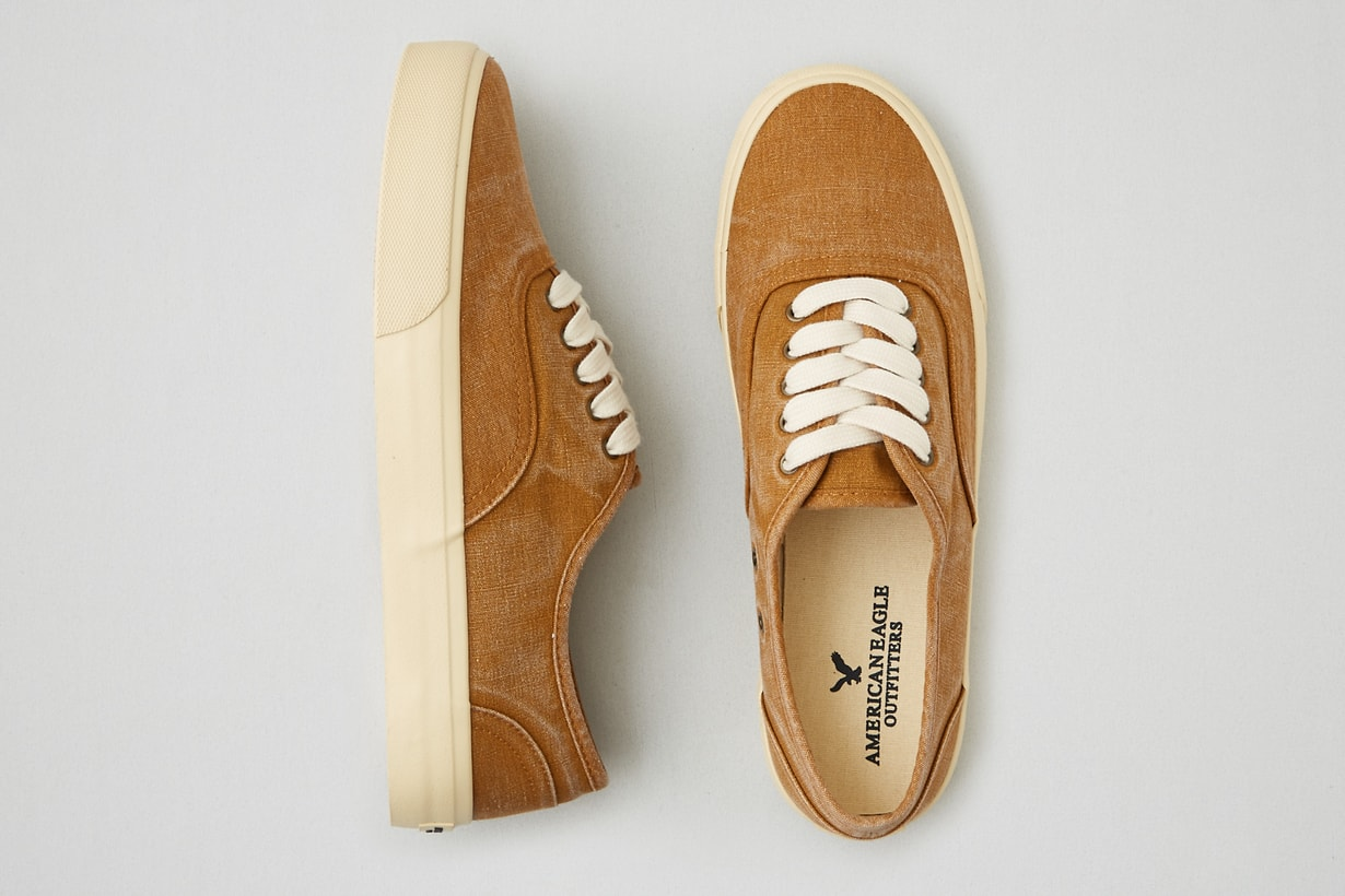 American Eagle: Up to 60% Off Clearance: Men's Lace-Up Sneaker  $8 & Much More