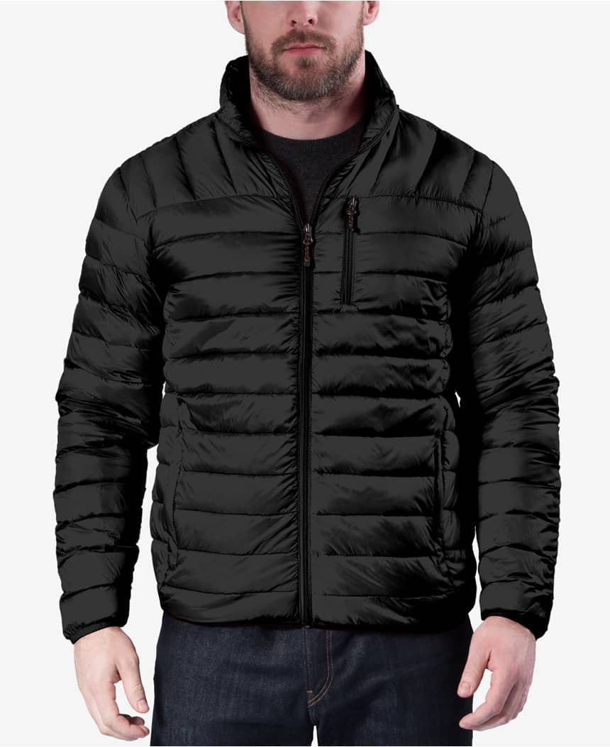 Men's Coats: 32 Degrees or Hawke & Co Packable Down Jacket $30, IZOD Reversible Ripstop Stand-Collar Coat $30, More + free store pickup at macys