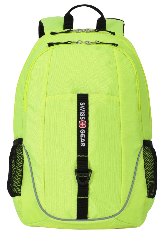 "SwissGear SA6639 15"" Laptop Backpack (Neon Yellow) $8.60 + Free Shipping w/ Prime Amazon.com"