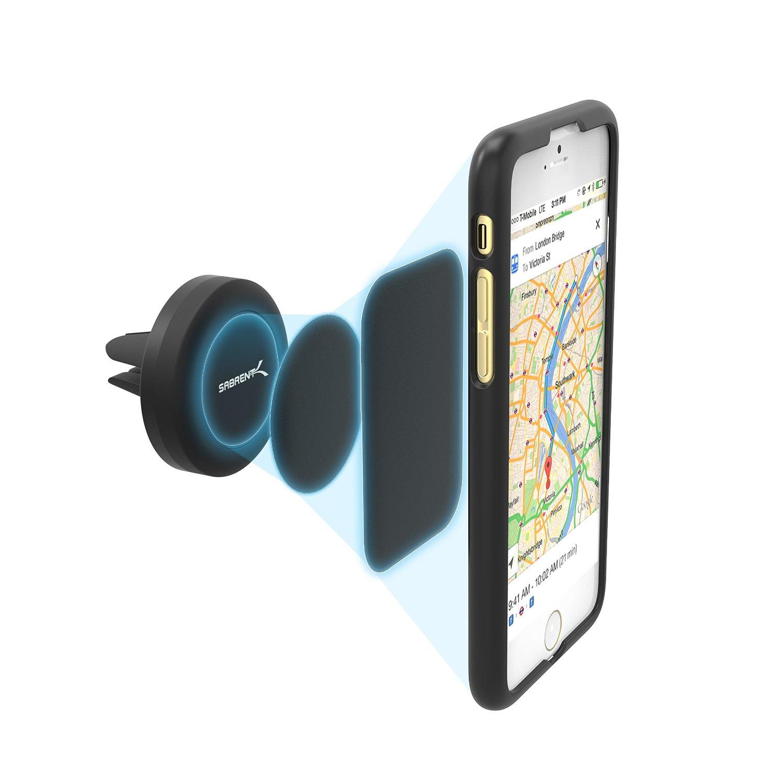 Sabrent Magnetic Universal Car Mount Holder for Smartphones  $2 (Facebook Req.)
